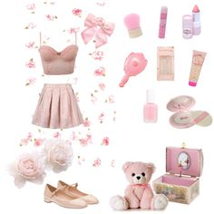 A home decor collage from August 2016 Harajuku Fashion, Kawaii Fashion, Cute Fashion, Fashion Outfits, Fashion Trends, Girly Outfits, Cute Outfits, Casual Outfits, Space Outfit