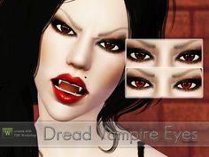 #Sims3 | callbery's Dread Vampire Eyes