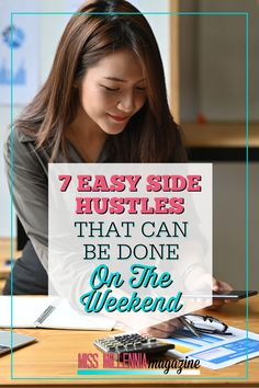 Some side hustles only take a few minutes to get started. Today I want to talk about seven easy side hustles anyone can start this weekend. Work From Home Jobs, Make Money From Home, Make Money Online, Ways To Save Money, Money Tips, How To Make Money, Virtual Jobs, Have Board
