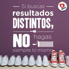 ¡Obtén resultados distintos! #ActitudBerel #Frases #Quotes