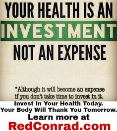 Investing in your #health today could save thousands in medical expenses tomorrow.