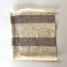 """Two-Way Sweater Knit Stripe Oatmeal and Brown 60"""" – Drygoods Design"""