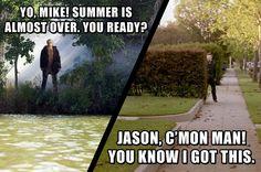 Jason Voorhees & Michael Meyers