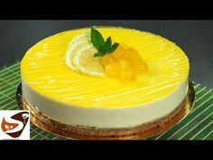Cheesecake fredda al limone, dolce facile, fresco e senza cottura – Ricette estive - YouTube