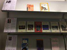 Febrero 2019. Rafael Cortusier, Soledad Puertolas y Berta Vilas Mahou son los escritores que os proponemos a coner su obra. Expositor 1ª planta, junto ascensor.