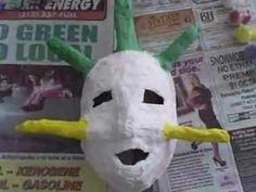 how to make vejigante masks for Carnivale