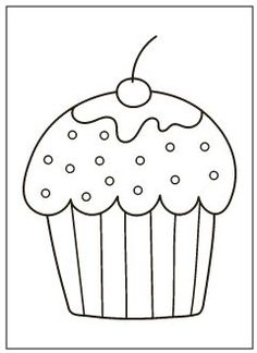 large print cupcakes coloring pages  coloring books cupcake coloring pages coloring pages