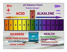 Ph balance...are you ACIDIC OR ALKALINE