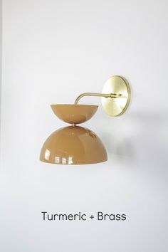 Turmeric + Brass Handcrafted in house with our custom finishes. Kitchen Lighting, Bathroom Lighting, Wall Lighting, Bathroom Faucets, Light Crafts, Style Tile, Custom Lighting, Walk In Shower, Traditional Kitchen