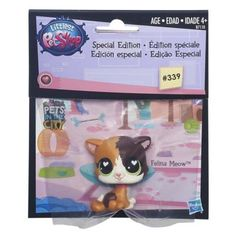 Littlest Pet Shop 339 Collect and Get Kitty 5 $