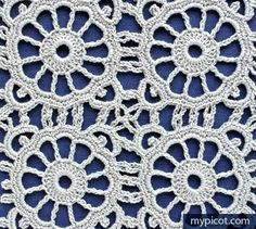 MyPicot | Free crochet pattern ༺✿Teresa Restegui http://www.pinterest.com/teretegui/✿༻