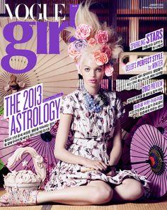Vogue Girl Korea January 2013. Daphne Groeneveld photographed by Mark Segal.