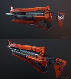 ArtStation - Weapon concepts , Dmitriy Rabochiy