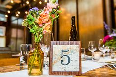 Details make the wedding at Brooklyn Winery!