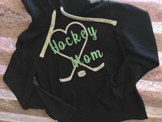 Hockey Mom hoodie sweatshirt by SupportVeterans on Etsy https://www.etsy.com/listing/464371136/hockey-mom-hoodie-sweatshirt