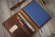 iPad Mini Case Hand Stitched iphone Sleeve Large Moleskine