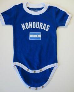 Future Soccer Player Honduras Baby Bodysuit One Piece