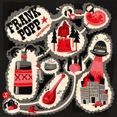Frank Popp Cover-Art by Niklas Coskan