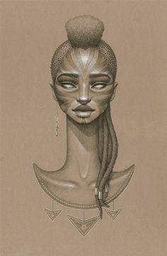 african sun goddess, orun