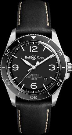 TimeZone : Industry News » Basel 2017 - Bell & Ross BR-V Vintage Collection