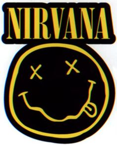 Licenses Products Nirvana Diecut Smiley Logo Sticker -- Check out this great image @