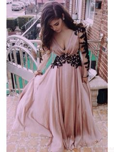 A-Line Real Made Charming Prom Dress,Appliques Formal Dresses,Charming Evening Dresses On Sale,