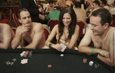 Strip Poker Tournament