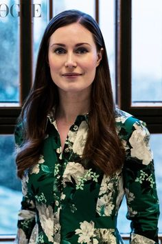 Sanna Marin, The Youngest Female Prime Minister In The World, Talks Sexism, Imposter Syndrome, and Sustainability Fashion Hub, Fashion Beauty, Fashion Outfits, Sales Girl, Lifestyle Articles, Young Female, Celebs, Celebrities, White Man