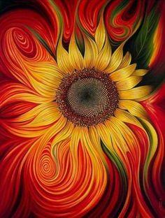 sunflower pattern diamond embroidery sewing DIY painting diamond cross stitch full diamond painting home decoration Sunflower Pictures, Sunflower Art, Sunflower Garden, Sunflower Pattern, Sunflower Wallpaper, Art Abstrait, Mexican Art, Fractal Art, Painting Inspiration