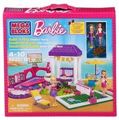 Mega Bloks Barbie Outdoor Party #MegaBloks