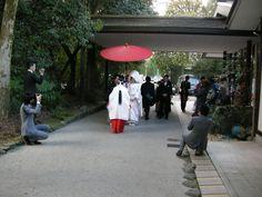 さぁ、参進(花嫁行列)の出発です~!|「いい結婚式でした~!」 下鴨神社/京都の結婚式の画像 | 京都おこしやす日記/京都の結婚式情報