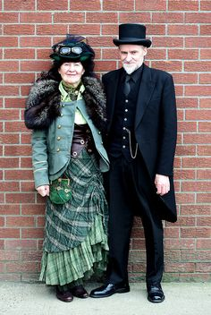 I hope I'm this cool when I get older! Whitby Goth Weekend 2011 _ 039 by kjl08, via Flickr