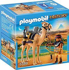 Amazon.de:Playmobil 5389 - Ägyptischer Kamelkämpfer