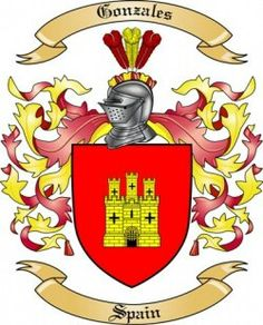Gonzales Coat of Arms