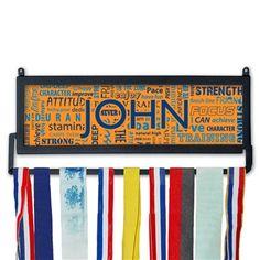 Custom Race Medal Display Running Motivation MedalART   Wall Displays for Race Medals