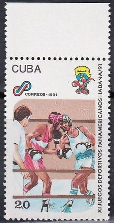Cuba - Boxing on stamps theme, 1991.