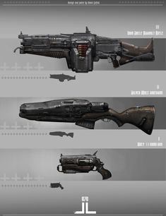"""These guns was designed for my own project"""" Infinite Chain"""""""