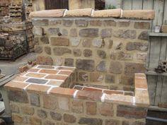 Brick Path, Brick Garden, Front Yard Garden Design, Small Garden Design, Stone Fountains, Garden Fountains, Garden Sink, Water Garden, Outdoor Sinks