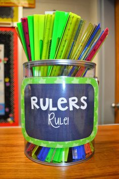Time to Reorganize: Tips From Two Teachers -- Come get inspired to reorganize your space!