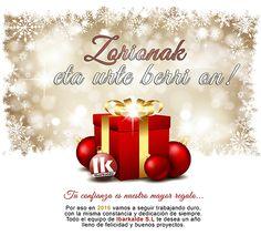 """Felicitación de Navidad, Zorional 2016! con el eslogan """"Tu confianza es nuestro mayor regalo""""."""
