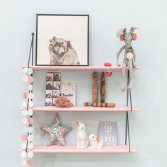 6 estanterías infantiles preciosas y fáciles de hacer | Decoración