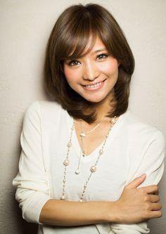 ナチュラルで可愛い☆ミディアムストレート|アフロートジャパン 【銀座の美容室】のヘアスタイル