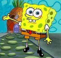 SpongeBob is a character that is very loving, caring, funny, and he is a hard worker at the Krusty Krab. He is basically the most friendliness sea cri Spongebob Cartoon, Spongebob Drawings, Spongebob Patrick, Cartoon Pics, Cartoon Drawings, Cartoon Characters, Angelica Pickles, Spongebob Painting, All American Boy