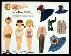78.14115: This Is Betsy McCall | paper doll | Paper Dolls | Dolls | Online Collections | The Strong