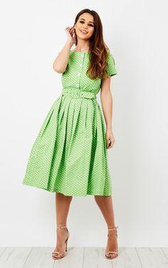 04ea2567bf76 Isabelle Polka Dot Summer Dress Polka Dot Summer Dresses
