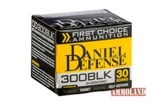 New From Daniel Defense: 300 BLK Ammunition