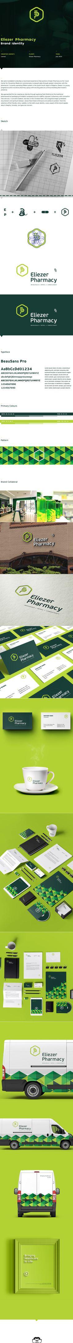 Eliezer Pharmacy on Behance