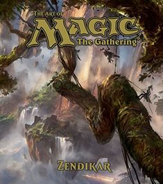 The Art of Magic: the Gathering: Zendikar by James Wyatt http://www.amazon.ca/dp/142158249X/ref=cm_sw_r_pi_dp_D.QDwb1F0K71S