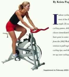 Celebrating Indoor Cycling: Rides, Races, Drills & Skills