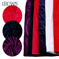 Luxury Silky Satin Dress Craft Fabric Wedding Material 100/% Polyester 150cm Wide